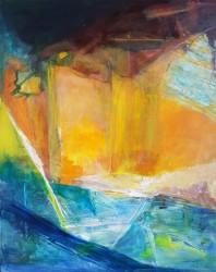Acrylic on canvas 50 x 40 cm