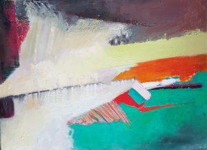 Oil on canvas 30 x 40 cm