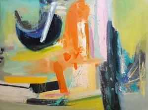 Oil on canvas 45 x 60 cm